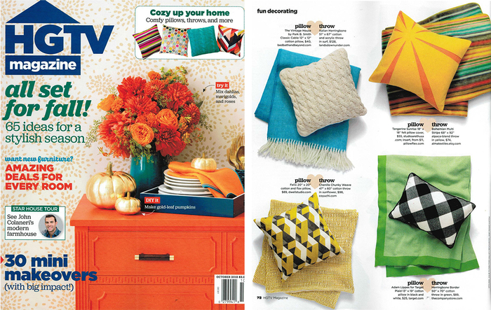 HGTV October Issue 2015