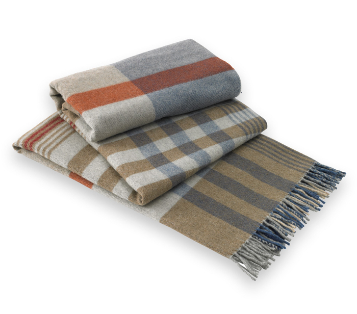 Napoli Lambswool Throw Italian Lambswool Throws