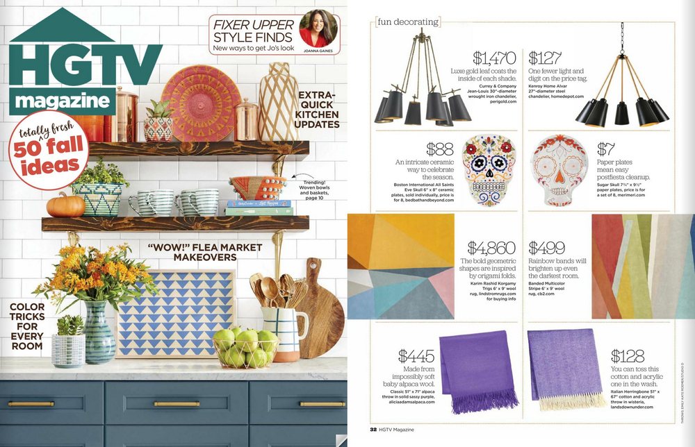 HGTV October Issue