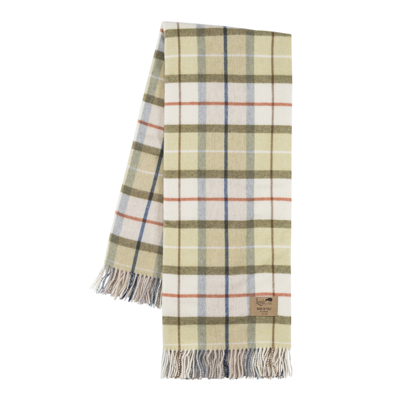 Tuscany Lambswool Plaid | Italian Lambswool Throws