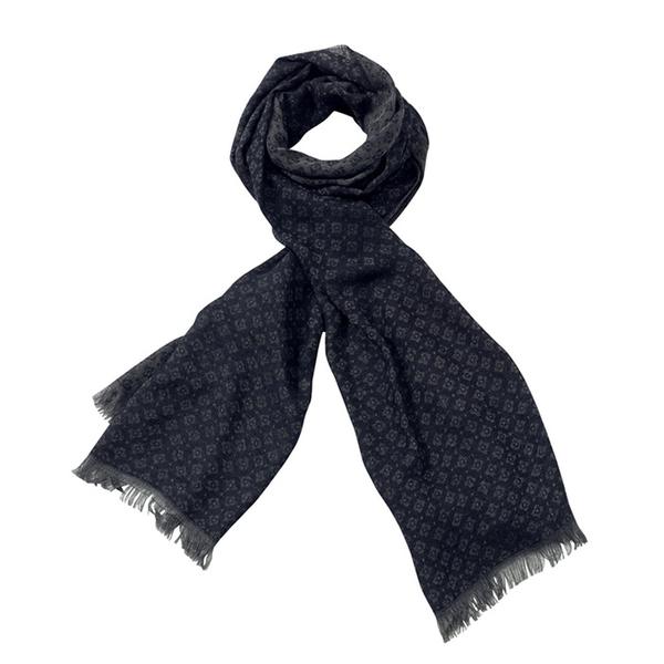AVvOLTO Blue Emblem Scarf | Scarves