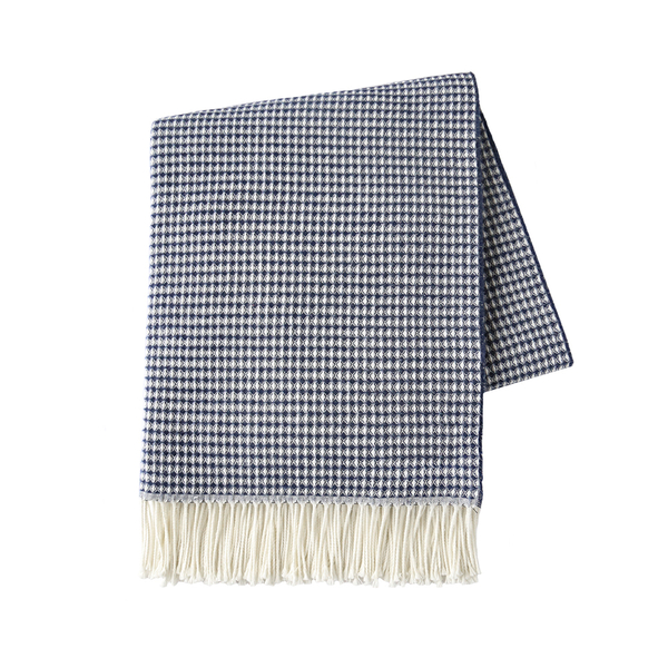 Navy Valenti Throw | Valenti Italian Throws