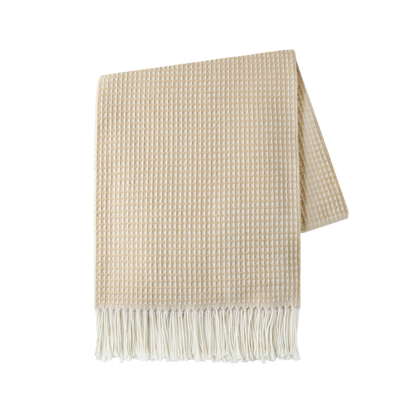 Caramel Valenti Throw | Valenti Italian Throws