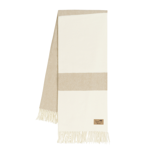 Dune Sydney Herringbone Stripe Throw | Sydney Herringbone Stripe