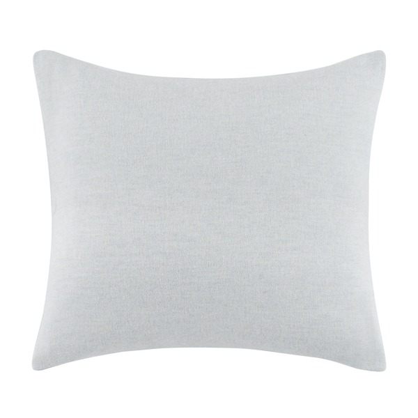 Hydrangea Solid Herringbone Pillow | Solid Herringbone Italian Pillows