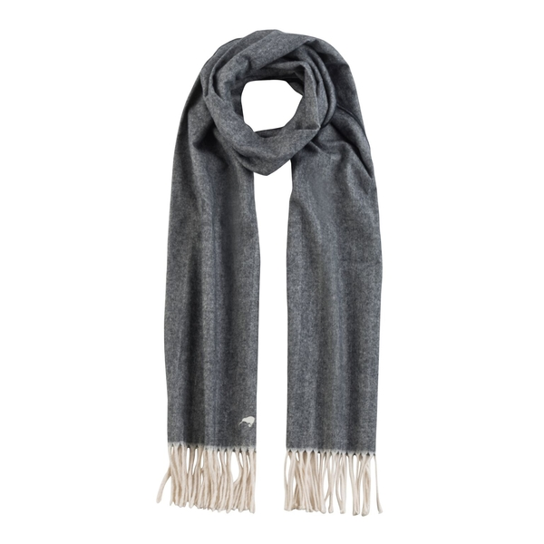 Black Herringbone Scarf | Scarves