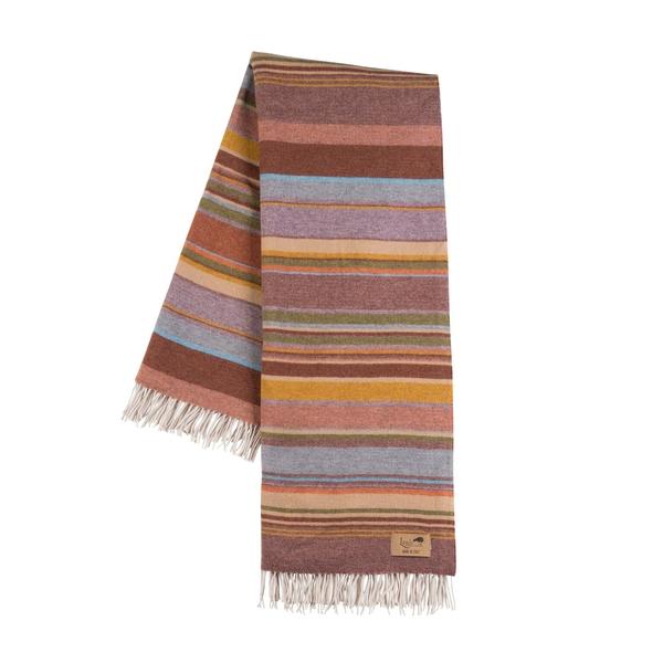 Milano Multi Italian Blanket | Milano Striped Merino Wool Throws