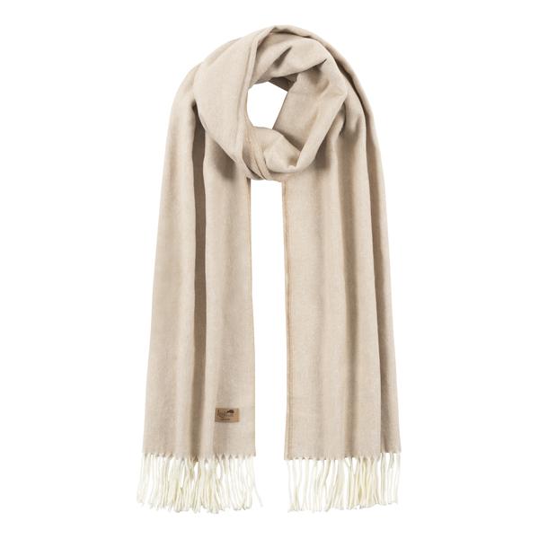 Dune Cotton Blend Herringbone Scarf | Scarves