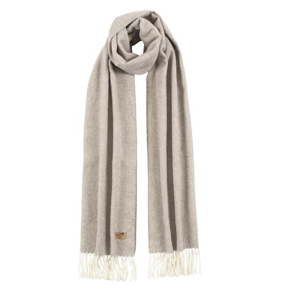 Barnwood Cotton Blend Herringbone Scarf | Scarves