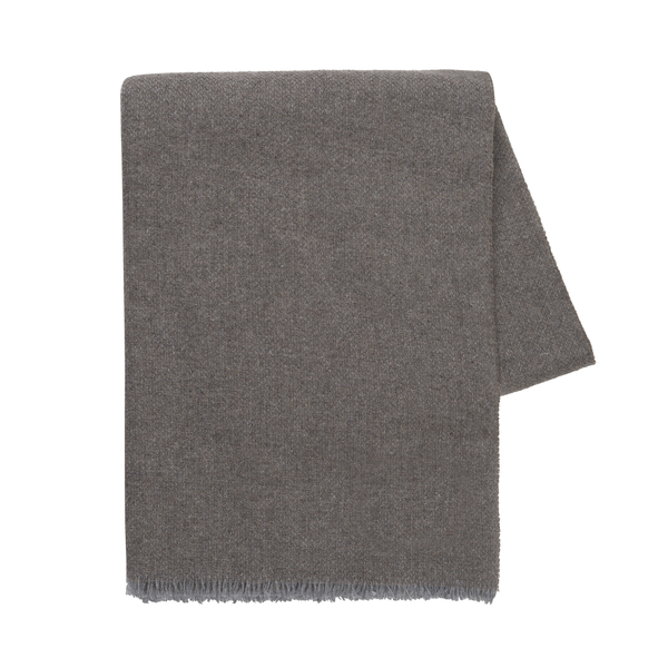Taupe Italian Luna Cashmere Throw | Luna Cashmere