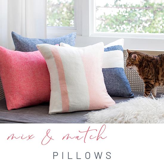 spring pillows image