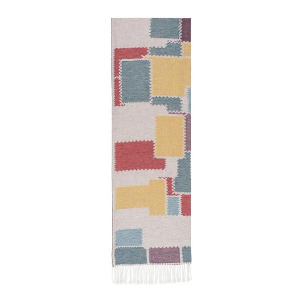 Multi Color Cobblestone Cotton  Jacquard Throw | 100% Cotton Jacquard