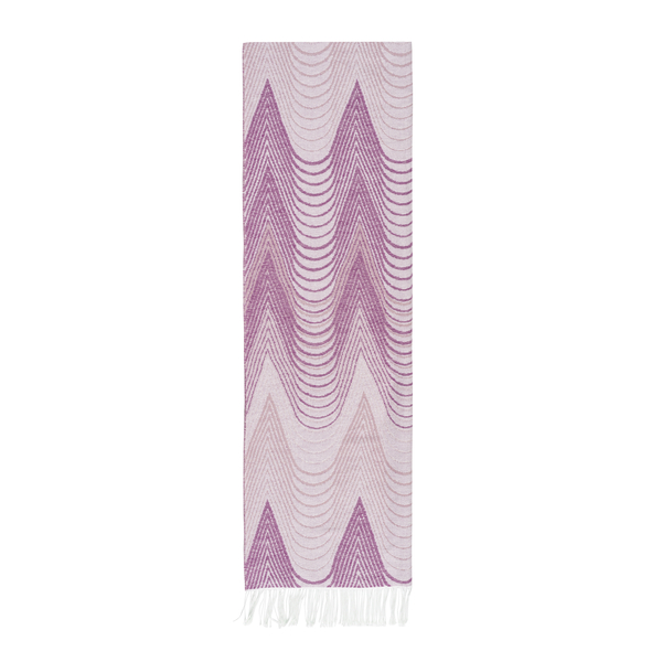 Pink Deco Cotton Jacquard Throw | Deco Cotton Jacquard