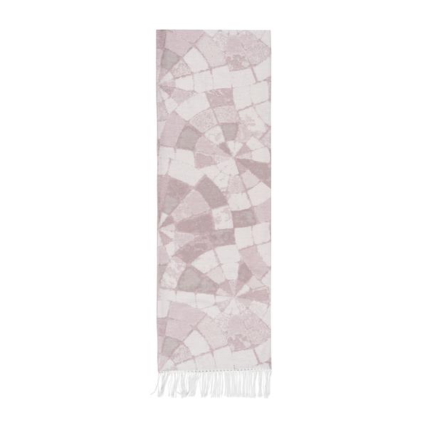 Blush Mosaic Cotton Jacquard Throw | Mosaic Cotton Jacquard