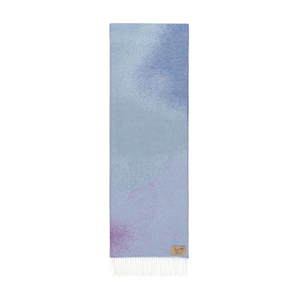 Purple Ombré Cotton Jacquard Throw | Ombré Cotton Jacquard