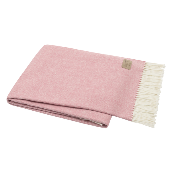 Berry Sorbet Italian Herringbone Throw | Herringbone