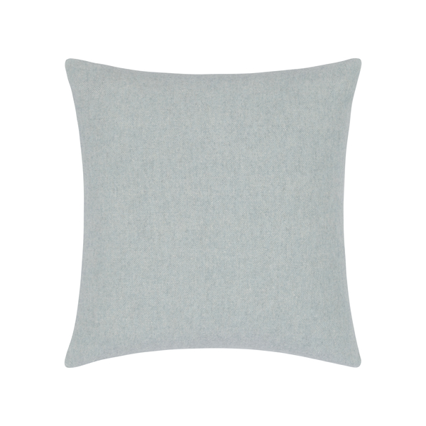 Crystal Blue Herringbone Pillow   Zip Solid Herringbone Pillow