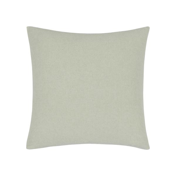 Seaglass Herringbone Pillow | Zip Solid Herringbone Pillow