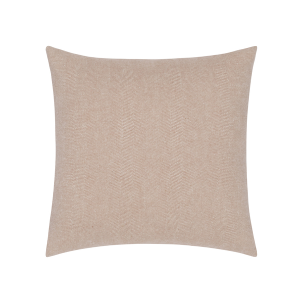 Rose Quartz Herringbone Pillow | Zip Solid Herringbone Pillow