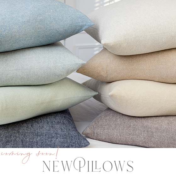 New Pillows- Coming soon image