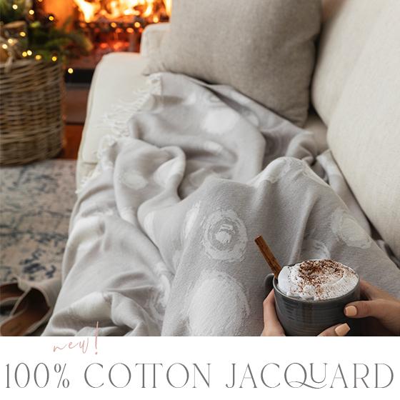 New 100% Cotton Jacquard image