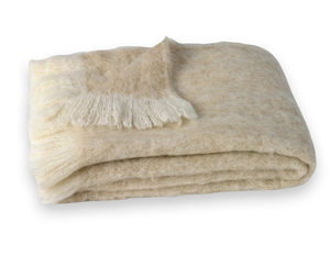 Image Sand Brushed Alpaca Throw