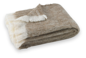 Image Driftwood Brushed Alpaca Throw