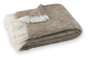 Image Driftwood Brushed Alpaca Throw