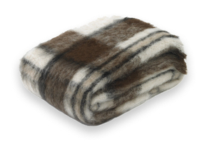 Image Apache Plaid Brushed Alpaca Throw