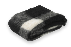 Image Friesian Plaid Brushed Alpaca Throw