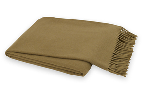 Image Camel Brown Italian Solid Throw