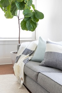 Image Sydney Herringbone Stripe Italian Throws