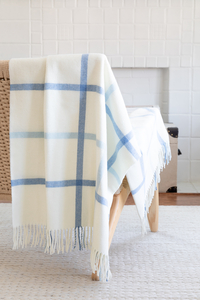 Image Tattersall Plaid Italian Throws