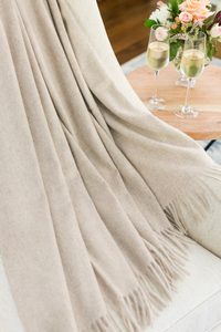 Image Luxe Italian Cashmere Throws