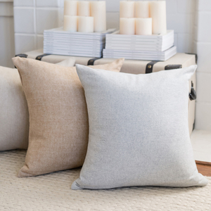 Image Solid Herringbone Italian Pillows