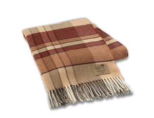 Image Spice Mod Plaid Lambswool Throw