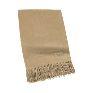 Image Camel Luxe Italian Cashmere Throw