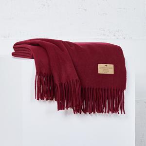 Image Cherry Luxe Italian Cashmere Throw