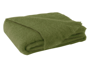 Image Fern Brushed Mohair Throw