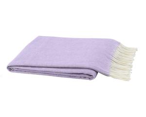Image Lilac Italian Herringbone Throw