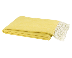 Canary Italian Herringbone Throw image