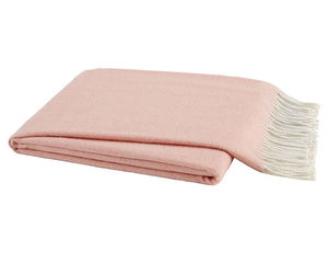 Blush Italian Herringbone Throw image