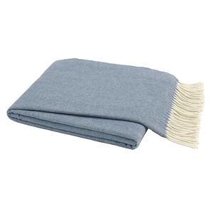 Chambray Italian Herringbone Throw image