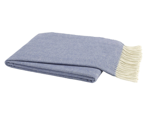 Image Chambray Italian Herringbone Throw
