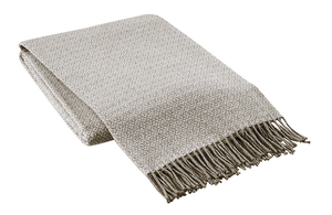Image Taupe Mini Geo Italian Throw