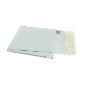Image Glacier Italian Herringbone Throw