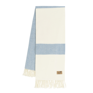 Image Denim Sydney Herringbone Stripe Throw