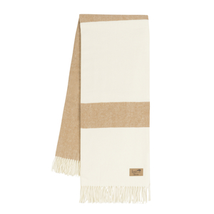 Caramel Sydney Herringbone Stripe Throw image