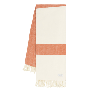 Image Mandarin Sydney Herringbone Stripe Throw