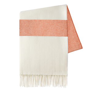 Mandarin Sydney Herringbone Stripe Throw image